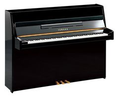 Yamaha B1 Upright Piano can order in white finish and pay monthly until price is paid off