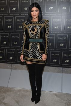 Kylie at the BALMAIN X H&M Collection Launch 20.10.15