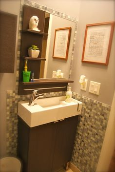 Ikea Bathroom ReModel on a Budget...  by Julia Kendrick.com   liking the titles