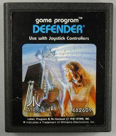 Atari 2600 - Defender (1982) CX-2609 - Cartridge