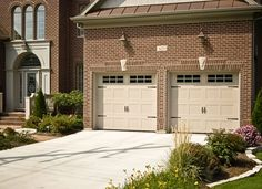C h i carriage house collection model 5983 in sandstone for Fimbel garage door prices