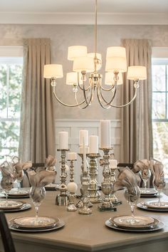 Dining Room Chandelier. I am buying this chandelier for my dining room and I am also recommending to a client. It's beautiful, classic and relatively affordable. The chandelier is the Fortune Chandelier from Progress Lighting. #DiningRoom #Chandelier