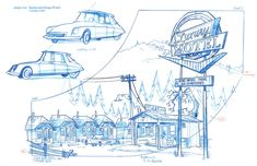 "Arte del Frederico: ""The Life and Times of Juniper Lee"" (Part Layout Design, Bg Design, Prop Design, Sketch Background, Cartoon Background, Animation Background, Environment Concept Art, Environment Design, Cartoon Network Shows"