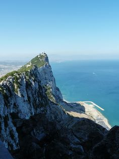 The Rock of Gibraltar Spain...Was there in 1994. Beautiful country. On a clear day you can see Morocco, Africa!