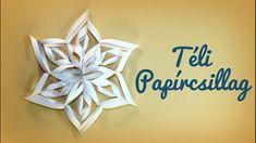 Papírcsillag készítése - Téli dekorációs ötlet Winter Christmas, Classroom, Youtube, Home Decor, Class Room, Decoration Home, Room Decor, Home Interior Design, Youtubers