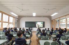 高安路第一小学华展校区,上海 / 山水秀建筑事务所 - 谷德设计网