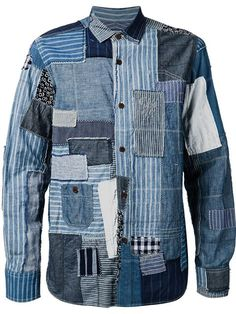 숍 Junya Watanabe Comme Des Garçons Man 패치워크 셔츠 in Eraldo from the world's best independent boutiques at farfetch.com. Over 1000 designers from 300 boutiques in one website.