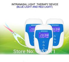120.00$  Buy now - http://ali1l7.worldwells.pw/go.php?t=32793220408 - Rhinitis phototherapy device with 650nm low level laser treatment