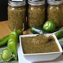 ROASTED SALSA VERDE! Easy to make and suitable for canning or freezing.  TheYummyLife.com