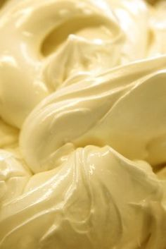 Crema Gelato - Crema flavor is the most popular flavors in Italian gelateries. It is as simple as gelato can get....milk, eggs, and sugar. It has a rich, yellow color from the deep hue of the egg yolks.