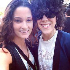 Lauren & Laura  #laurapergolizzi  #lp  #laurenruthward  #love