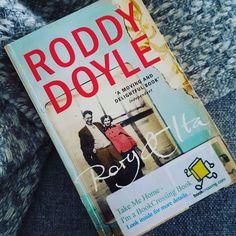 Sunday reading time. Loving this one so far #roddydoyle #rory&ita