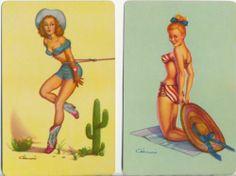 Pin UPS 2 Single Vintage Swap Playing Cards | eBay