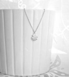 *kleeblatt charm* 925 silber Halskette  von Mint Design auf DaWanda.com