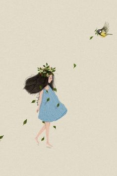 Ideas for cute illustration art girl inspiration Art And Illustration, Illustrations And Posters, Animes Wallpapers, Cute Wallpapers, Dreamland, Blond Amsterdam, Art Journal Inspiration, Girl Inspiration, Dope Art