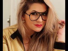 Maquiagem para compor com meus óculos favoritos (por Alice Salazar)