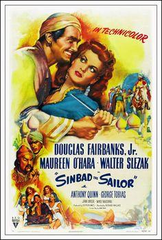 Simbad el Marino (1947) Español