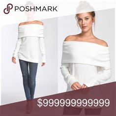 Off Shoulder Brushed Knit Top Ivory Off Shoulder Brushed Knit Top. Semi Fitted, Long Sleeve, Off Shoulder Top. Top is made with heavyweight brush thermal knit fabric that is very soft, drapes beautifully, and stretches very well. 62% Polyester/34% Rayon/4% Spandex. Made in the USA! Tops
