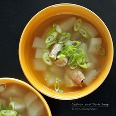 Daily Cooking Quest : Daikon and Pork Soup