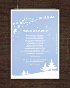 Weihnachtsgrüße mit Weihnachtsgedicht