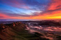 Misty Sunrise from Te Mata Peak | by Jos Buurmans