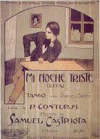 Tangos intertextuales, intermusicales y metatangos - Mi noche triste.
