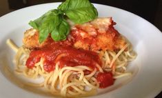 It's a Chicken Parmesan recipe that's for adults but also thrills the kids! Victory!