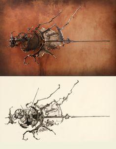 No.7 Sketch comparison by ericfreitas.deviantart.com on @deviantART