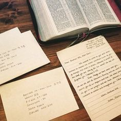 """Hannah Watson shares with us: """"We decided for a change on our family worship night to write some letters to our faithful brothers that are imprisoned in Korea for their stand on neutrality! Thanks to our brother @stanley_jw for supplying the addresses"""""""