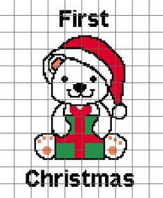 Babies First Christmas Crochet