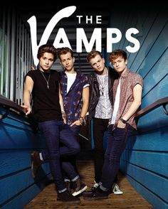 The Vamps - Group - Official Mini Poster. Official Merchandise. FREE SHIPPING
