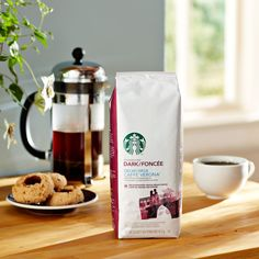 Decaf Caffè Verona®  A decaffeinated full-bodied, multi-region blend of coffees with the sweet touch of Italian Roast. Tasting Notes  Dark Cocoa & Roasty Sweet Enjoy this with:  Chocolate truffles and dinner guests who stay late. Roast Dark    $13.95 1 lb  http://websites-buy.com/starbucks-coffee-store