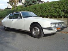 1974 Citroen SM- Maserati power, French beauty.