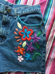 sosuperawesome: Embroidered and embellished clothing by...