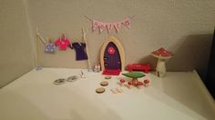 Fairy Bella loves her new human home! Fairy Homes, Birthday Candles, Happy, Fairy Houses, Happiness, Being Happy