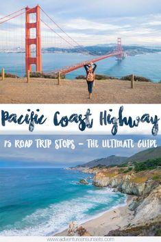75 Pacific Coast Highway Road Trip Stops for Off-the-Beaten-Path Explorer. Here is the ultimate guide to where to stop on a highway 1 road trip - including all the best viewpoints, scenic areas, beaches, and local tips. #PacificCoastHighway #Highway1 #PCH #california