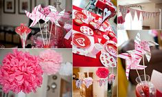 Cute Valentine Day Party (was used as a birthday but .  . .)