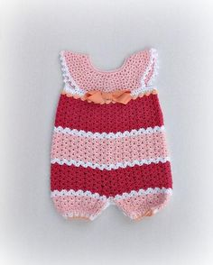 Looking for your next project? You're going to love Infant Romper by designer MelissaRMFrank.