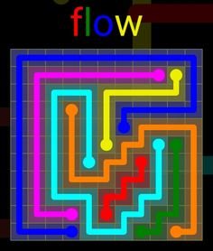 Flow Extreme Pack 2 - 11x11 - level 3 solution