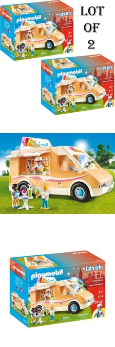 Playmobil 19854: Lot Of (2) New! Playmobil Playmobil Ice Cream Truck -> BUY IT NOW ONLY: $48.95 on eBay!