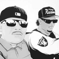 6f32e763af78d Two legends together.  RIP  Toker  EazyE  Brownside  NWA  HipHop