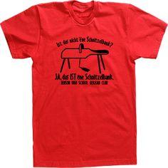 German Club T-shirt Ist Das Schnitzelbank