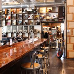 Quirky Coffee Shops: See See Motor Coffee Co.