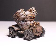 Buggy, Nice Design... Real Good Idea.., Orks, Rokkit, Soviet, Speed Freaks, White