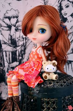 Ginger girl by Aienhime, via Flickr