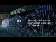 This project explores the invisible terrain of Wifi networks in urban spaces.  Immaterials: Light painting WiFi