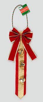 christmas door hanger AND 3 bows - Google Search