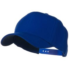 Solid Wool Blend Prostyle Snapback Cap - Royal