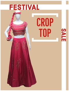 Festival Crop Tops, Facetime, Top Sales, Saree, Gowns, Live, Formal Dresses, House, Shopping