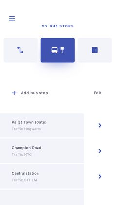 Traffic (bus) app exploration with the same color palette used in my previous shot. Flat Web Design, Ios Design, Mobile Ui Design, Bus App, Website Design Layout, App Design Inspiration, Mobile App Ui, Ui Web, Application Design